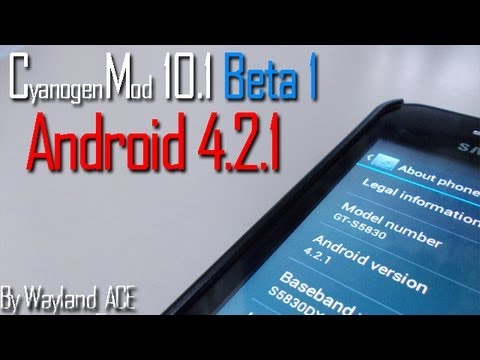 CyanogenMod 10.1 Beta 1 Android 4.2.1 JellyBean by Wayland_ACE