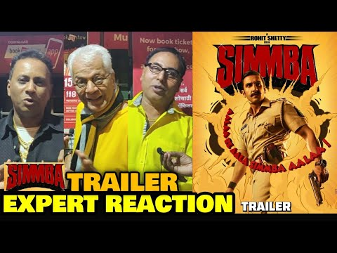 Simmba Trailer (Remake of Telugu Film Temper) | EXPERT REACTION | Ranveer Singh | Rohit Shetty Film