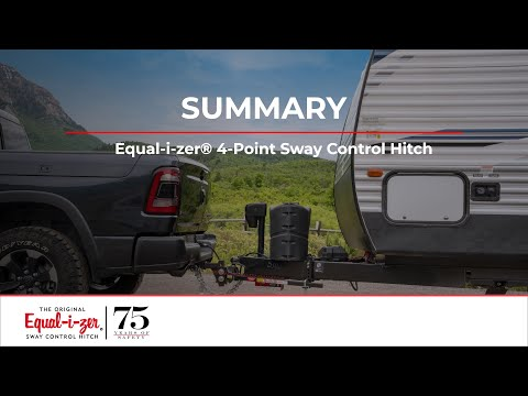 Summary -- Equal-i-zer® 4-Point Sway Control™ Trailer Hitch