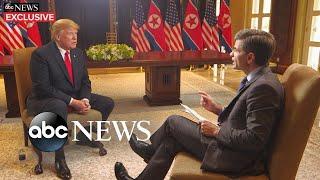 'I do trust him:' Trump says of Kim Jong Un