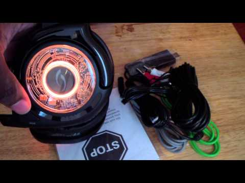 Unboxing pdp AfterGlow Prismatic Wireless Headset
