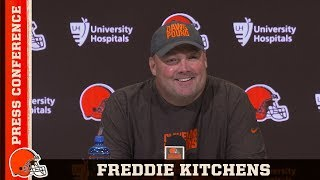 Freddie Kitchens Updates Baker's Status & Recaps Injury Report | Browns Press Conference
