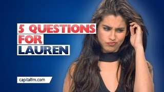 Fifth Harmony's Lauren Attempts To Beatbox!