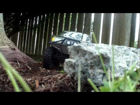 Axial SCX10 Trail Honcho RTR first run