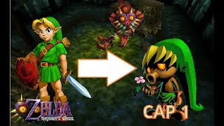 Trasformacion a Deku:Legend of Zelda Majora's Mask Cap 1