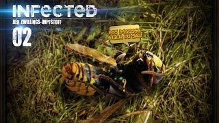 INFECTED [HD] #002 - Horny Hornissen ★ Let's Play Infected