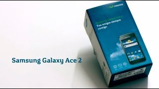 Unboxing del Samsung Galaxy Ace 2