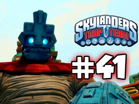 SKYLANDERS TRAP TEAM GAMEPLAY WALKTHROUGH - PART 41 - GRAVE CLOBBER!