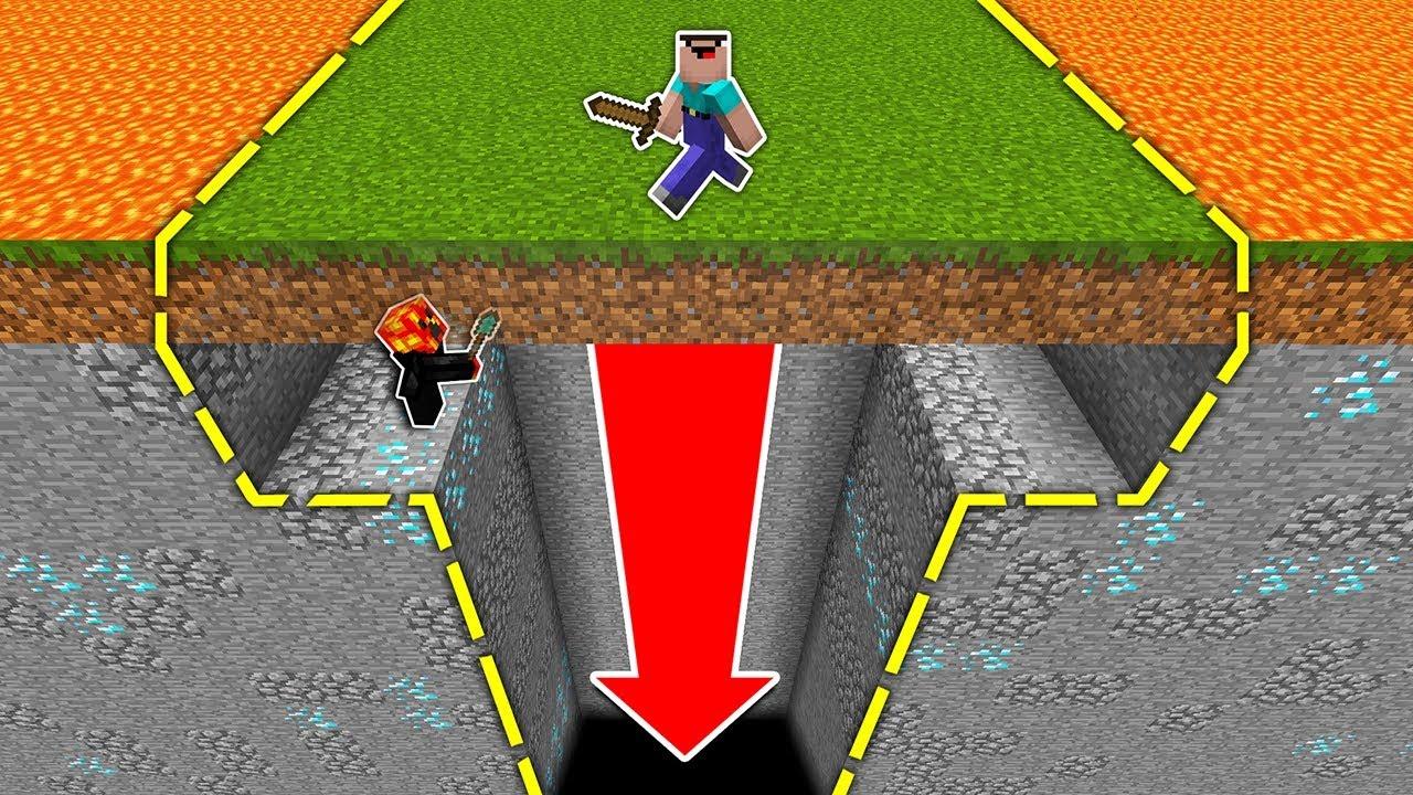 GIANT FLOOR HOLE TRAP! (IT WORKED!) - Minecraft Trolling
