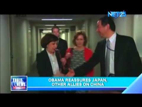 Obama reassures Japan, other allies on China