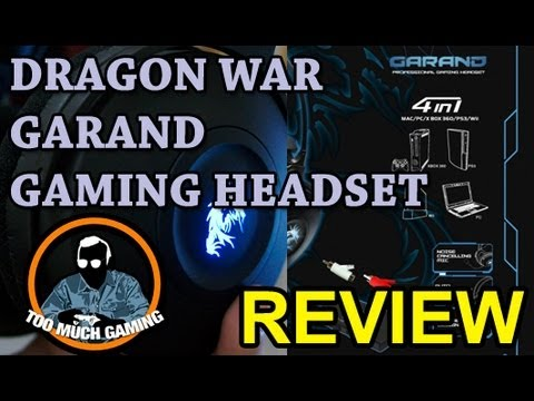 Dragon War Garand Gaming Headset Review   Too Much Gaming