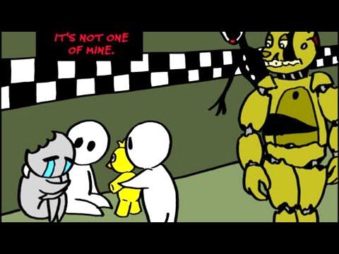 комиксы про фнаф 3