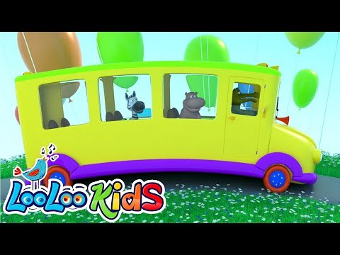 The Wheels On The Bus - THE BEST Songs for Children | LooLoo Kids