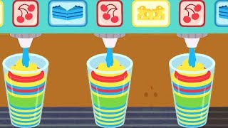 Sago Mini Babies Making Juice - Learn Colors And Play Educational Kids Games