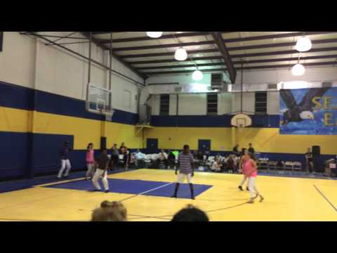 """Seacoast Christian Academy Dancers at Volley for Victory """"Shake Heaven by Montell Jordan"""""""