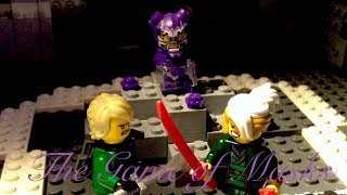 Lego Ninjago The Game of Masks Scene Recreation Without the Error!
