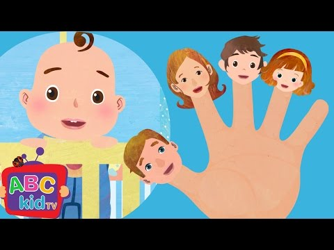 Finger Family | Nursery Rhymes - ABCkidTV