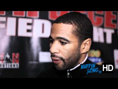 We caught up with Lamont Peterson ahead of his fight with Amir Khan @ their press conference in London. www.nuffinlong.com @nuffinlong dont forget to subscribe.