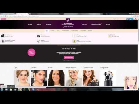 Copia de Como iniciarte como clienta younique y hacer una reunion virtual