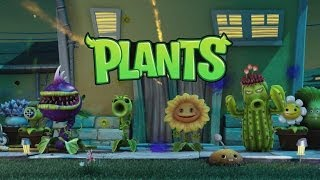 Plants vs. Zombies Garden Warfare All Plants Abilities [1080p]
