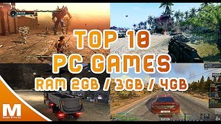 Top 10 Games For 4GB Ram Pcs  | You can play on  Nvidia GT 730  | HD Vedio | 2017 | Filmazia TV  OrG