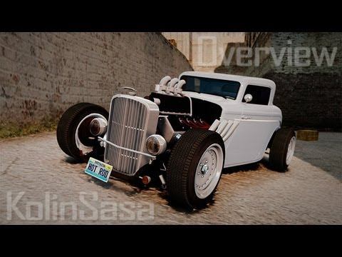 Custom Hot Rod 1933