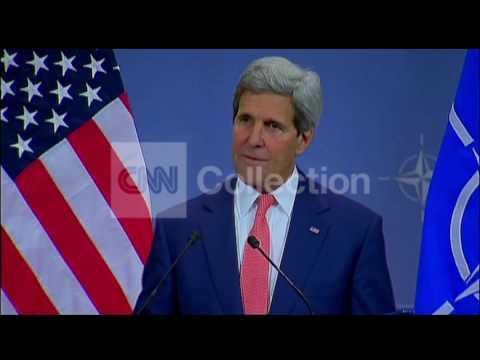 NATO: KERRY ON PUTIN'S ACTIONS IN UKRAINE