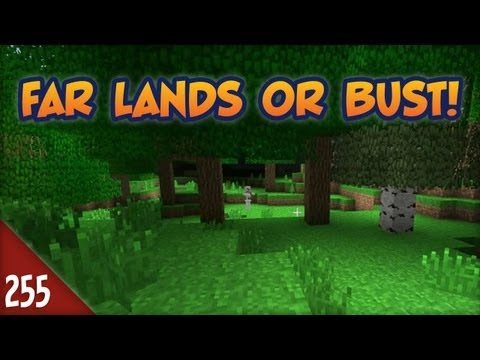 Minecraft Far Lands or Bust – #255 – New Overviewer Map! – 2MineCraft.com