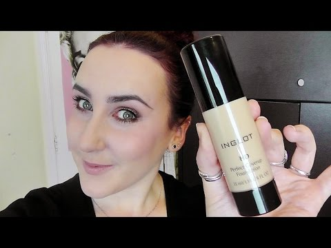 INGLOT HD Perfect CoverUp Foundation Review - First Impressions