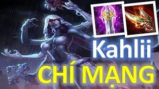 Liên Quân Mobile: Troll game cùng Cô dâu hắc ám Kahlii lên đồ Chí mạng như một xạ thủ :)