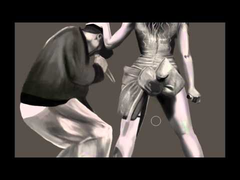 BEYONCE AND JAY Z - Speed Painting By JMC
