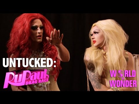 Untucked: RuPaul's Drag Race Episode 1 | Born Naked
