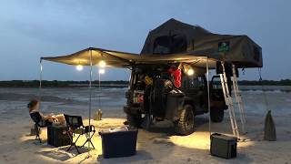 off-the grid family camping: overland jeep lvl80