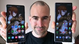 Sony Xperia 1 vs Samsung Galaxy S10 Plus | Side-by-side comparison