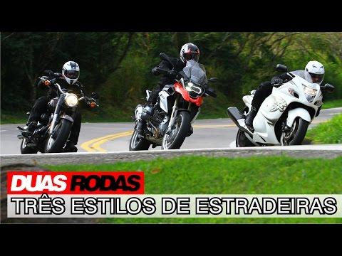 Comparativo Estradeiras: BMW R 1200 GS x Harley Fat Boy x Suzuki Hayabusa