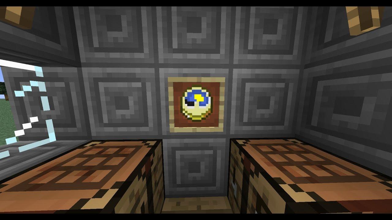 Minecraft como hacer un reloj de pared youtube - Reloj de pared adhesivo ...