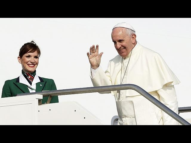 Pope: leaves for visit to Latin America