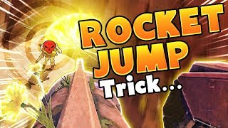 LUCKY 0.05% Bastion Rocket Jump Trick!! - Overwatch Funny Moments Best Plays 42