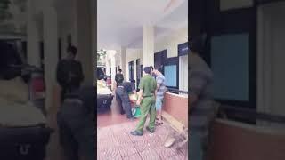 CSGT bắt cyanua tại Quảng Nam.
