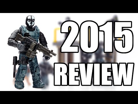 CALL OF DUTY GHOSTS MEGA BLOKS COVERT OPS UNIT REVIEW 2015 (HD)!!!