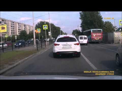 Авария в Екатеринбурге 09 08 2014