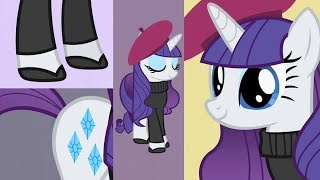 Rarity Ft. Twilight Sparkle - Becoming Popular [The Pony Everypony Should Know] (With Lyrics)