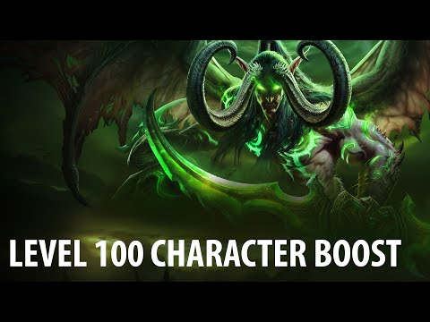 how to make yur character level 100 wow legion