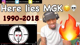 The Funeral was Nice! | Eminem KILLSHOT (MGK diss) REACTION