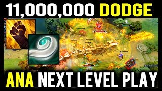 $11,000,000 Dodge - How Ana Dodge All Skills Perfectly in TI8