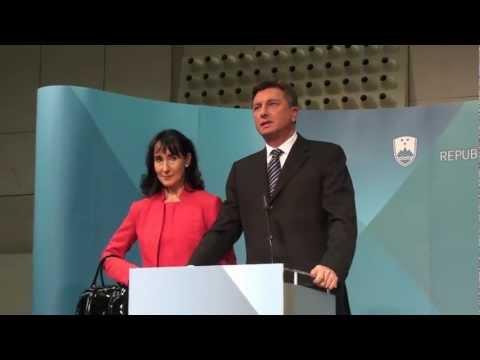 Borut Pahor ob izvolitvi za predsednika republike