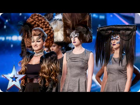 Will hairdresser Anna wig the Judges out? | Britain's Got Talent 2015