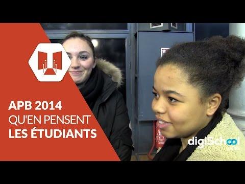 APB 2014 : qu'en pensent les étudiants ?