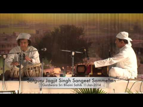 Zakir Hussain  Satguru Jagjit Singh Sangeet Sammelan Sri Bhaini...