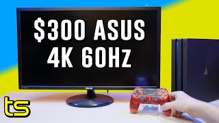 "Asus 28"" 4K VP28UQG $300 Gaming Monitor Review"